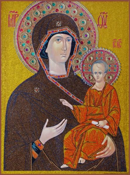 Смоленская икона Богородицы