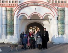 Дети из приюта посетили Иосифо-Волоцкий монастырь
